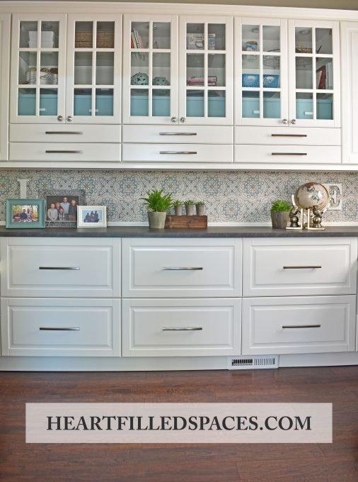 Ikea Home Office Renovation, Ikea Sektion Kitchen Cabinets, Office Storage,