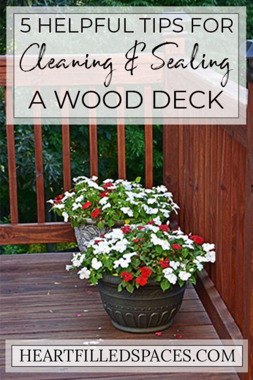 DIY Deck Maintenance Ideas