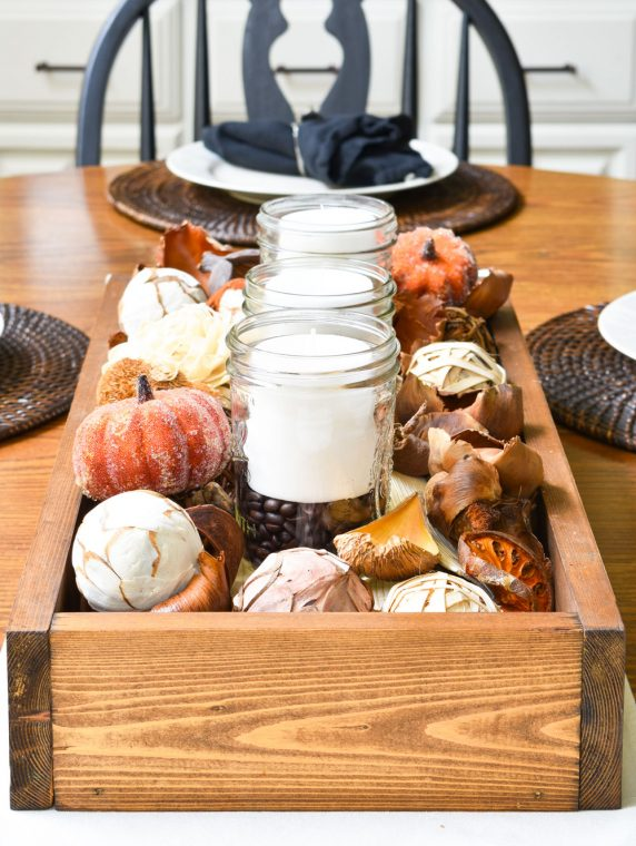 Rustic Fall Farmhouse Table