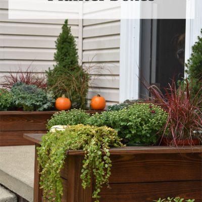 DIY Wooden Planter Boxes