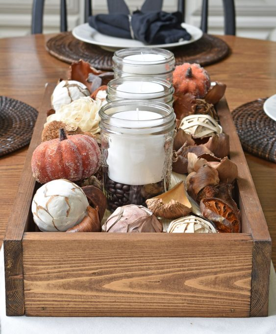 Fall Home Decor, Fall Centerpiece, Fall Table Setting, Fall Decor