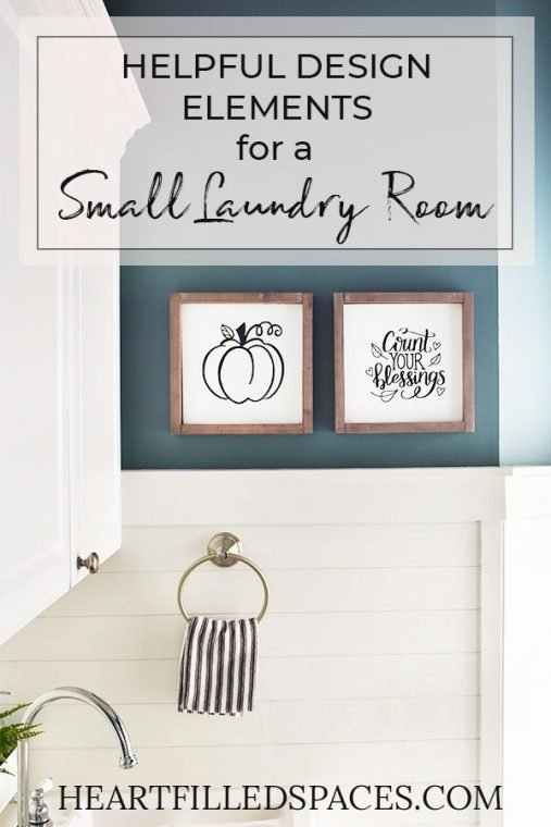 Small White Shiplap Mudroom and Laundry Room