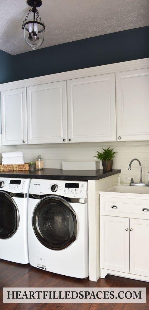 Laundry Closet Storage Solutions