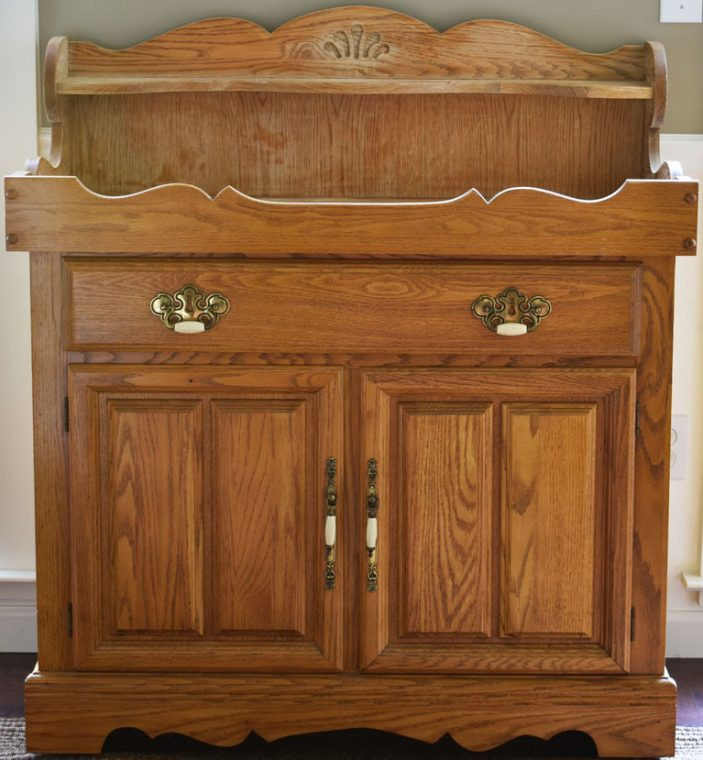 Old Oak Dry Sink