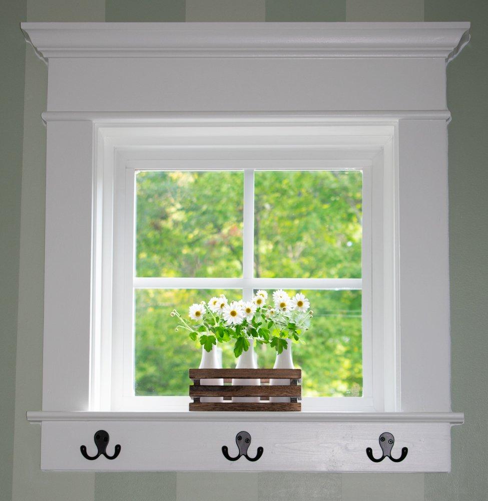 DIY Window Trim | Heart Filled Spaces