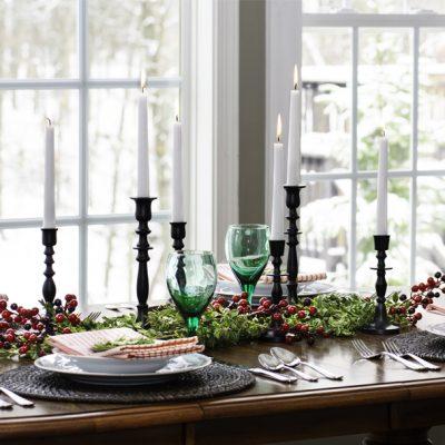 Simple Ideas For A Christmas Farmhouse Table Setting