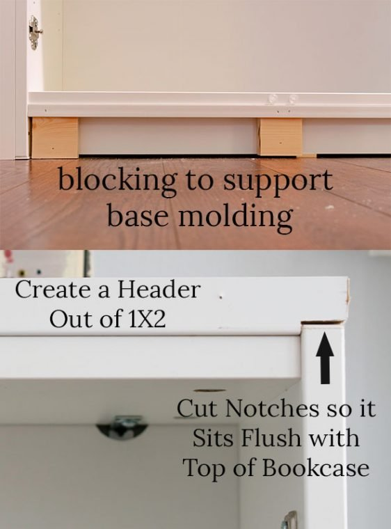 How to Install built in cabinets.