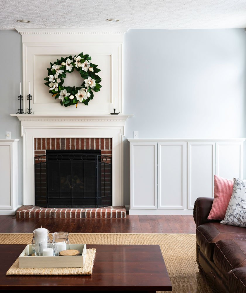How To Build Fireplace Built Ins From Ikea Bookcases