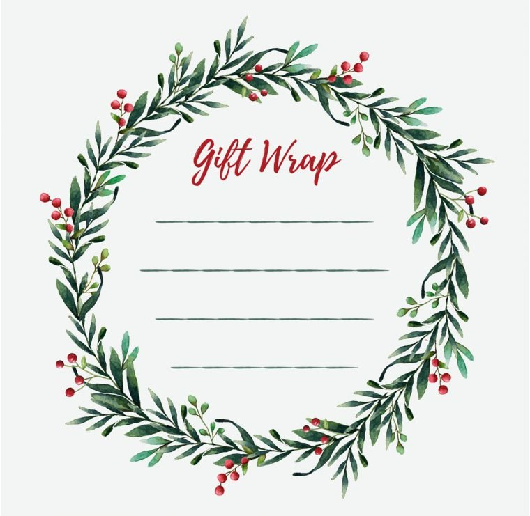 Christmas Bin Printable