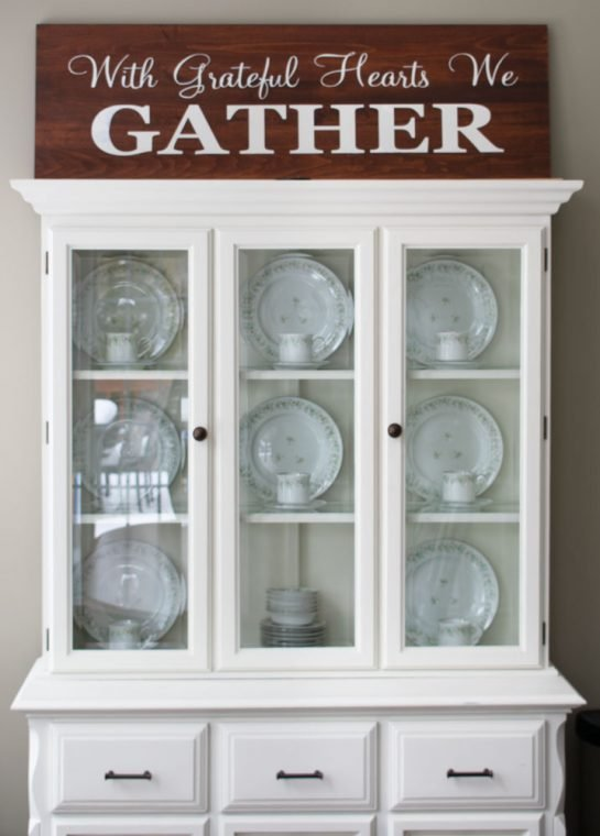 DIY Farmhouse Gather Sign