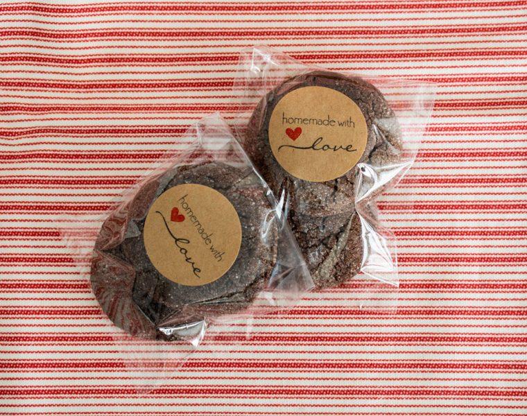 Homemade Chocolate Sugar Cookies
