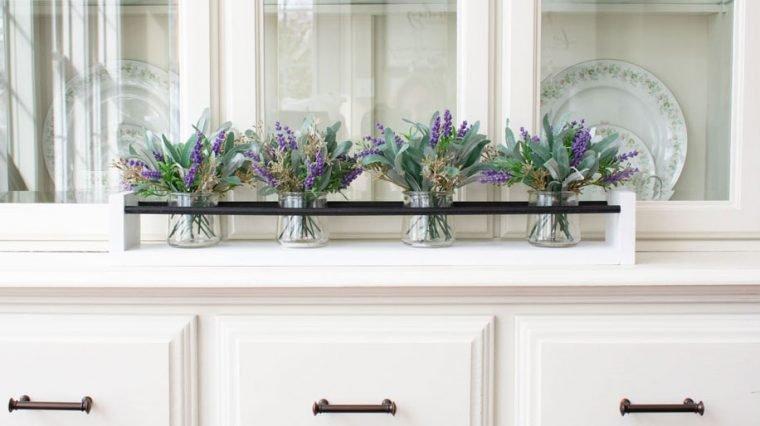 DIY Farmhouse Style Vase Holder