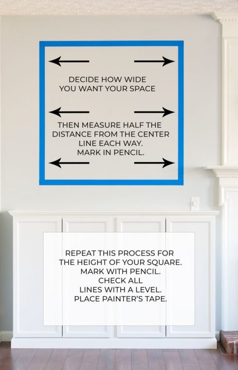 How to measure for moldings.