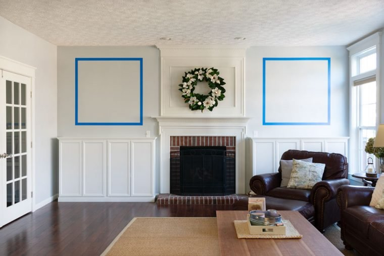 How to measure for moldings and stencils.