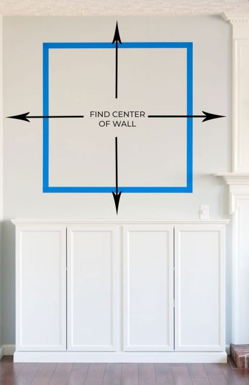 Measuring to install Picture Frame Molding