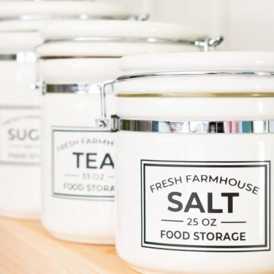 Free Editable Printable Kitchen Pantry Labels for Storage Containers