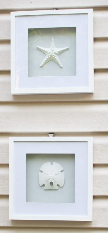 How to hang outdoor decorations on vinyl siding.