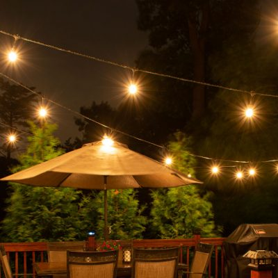How to Install Deck Lighting using Edison Outdoor String Lights