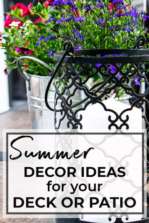 Deck Decorating on a budget.