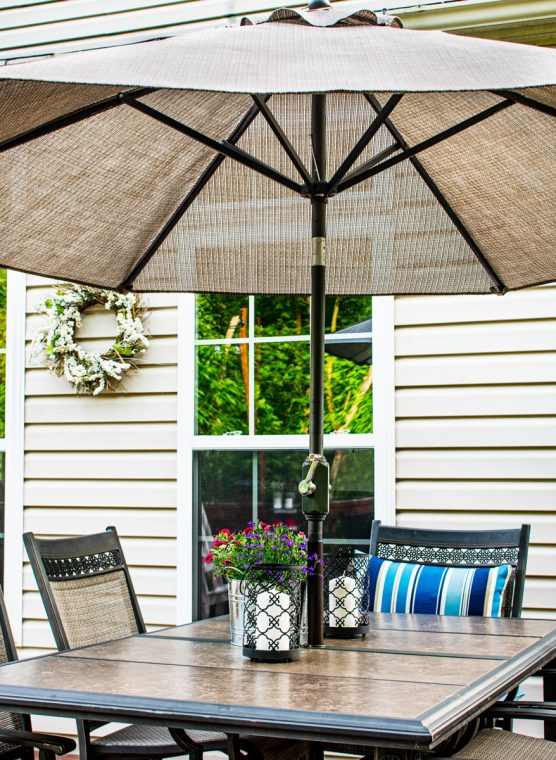 How to cozy up a deck for summer on a budget.