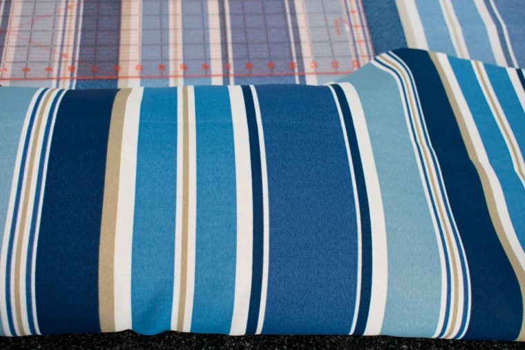 How to make outdoor pillow covers.