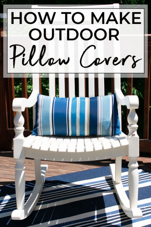 Updated outdoor pillows.