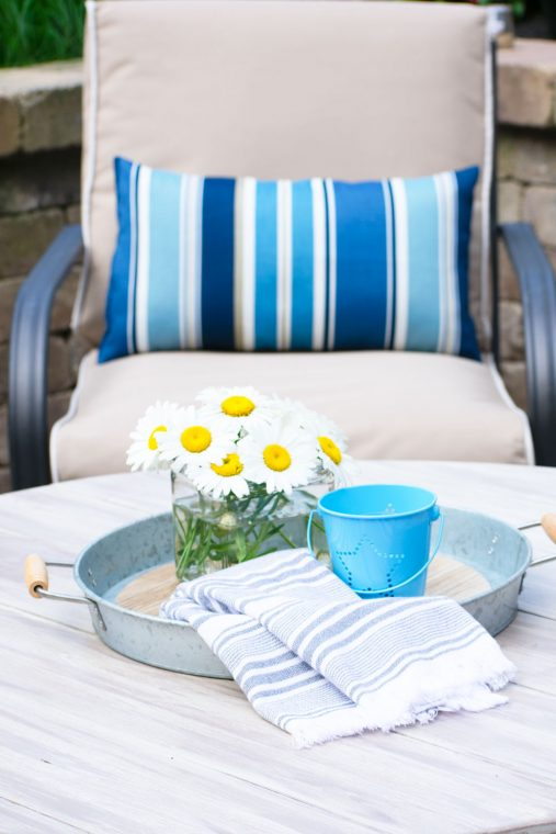 How to update your patio furniture for a fresh makeover this summer.