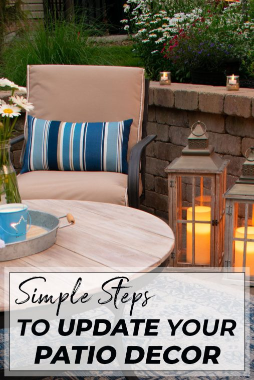 How to update your patio on a budget.