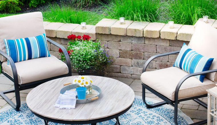 Budget friendly ways to update your patio.