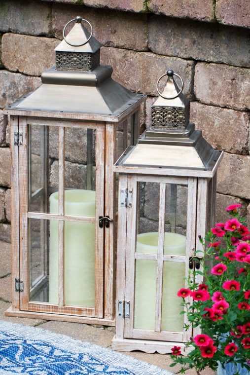 How to update your patio decor on a budget.