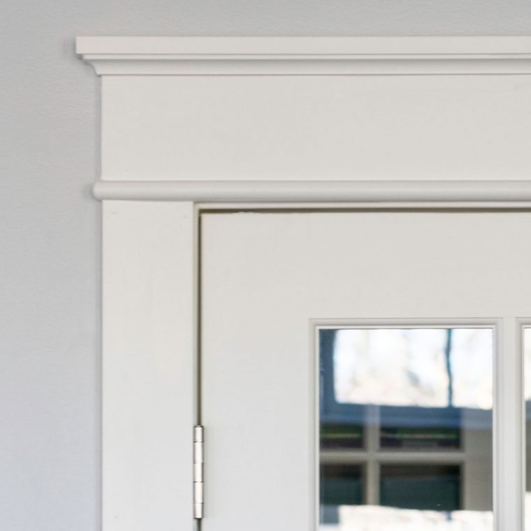French Door Makeover Part Two Diy Casing