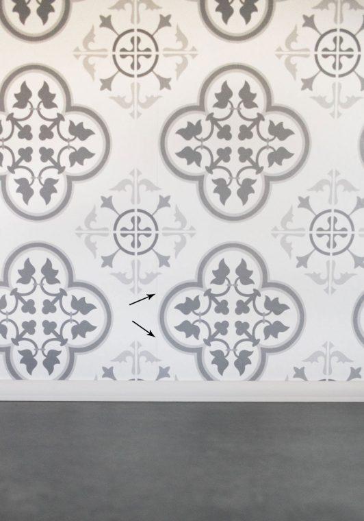 Tips to apply a wallpaper backsplash.
