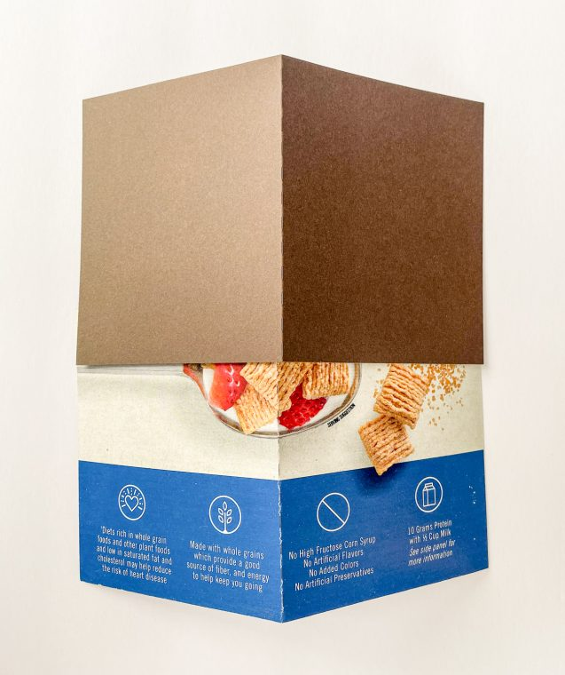 How to cut a cereal box with a Silhouette Cameo to make DIY paper birdhouses.