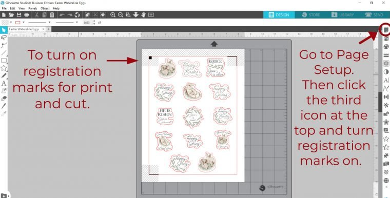 How to cut printables on your Silhouette Cameo 4.