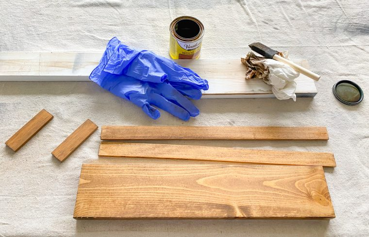 How to build a wood tray for your herb containers.