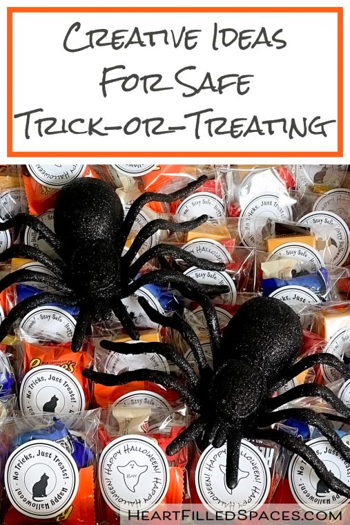 Creative and safe ideas for Trick or Treating during Covid