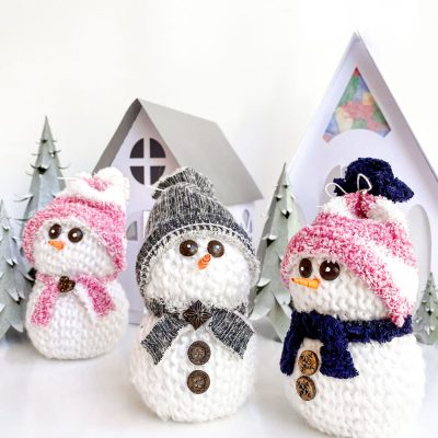 Cute Snowman Craft For Your DIY Christmas Decor