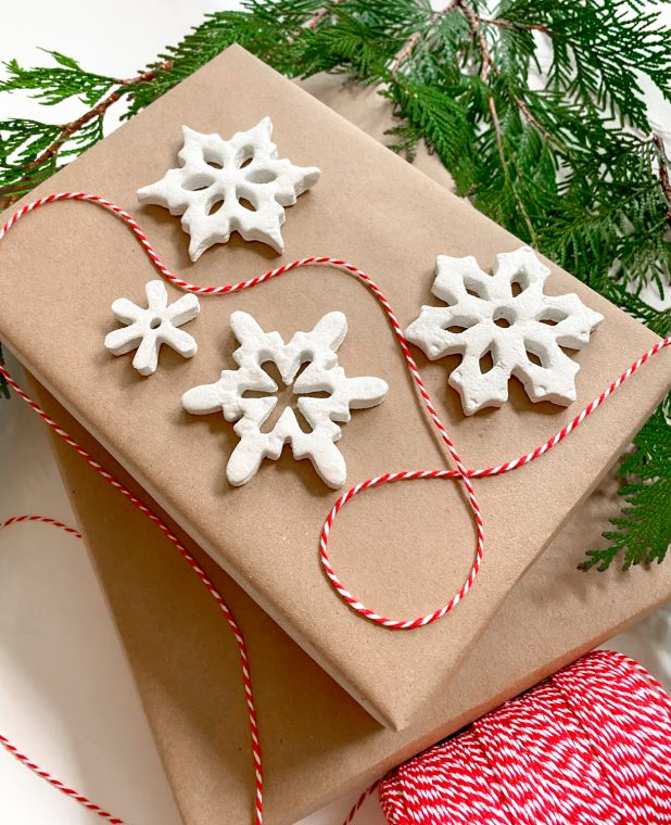 DIY Christmas Ornaments - Snowflake Craft