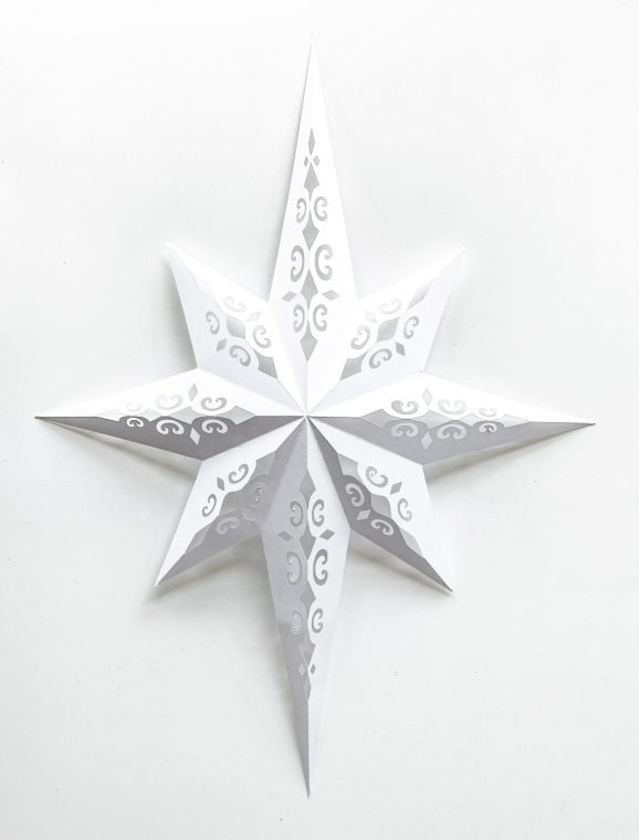 Folded Bethlehem Christmas Star.