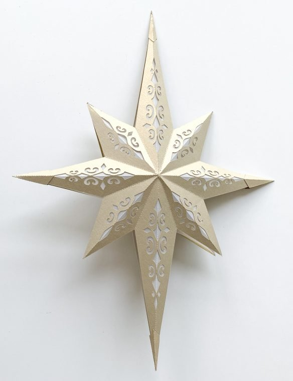 3D Bethlehem Christmas Star Craft.