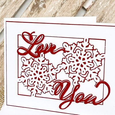 Valentine's Day SVG: DIY Handmade Card